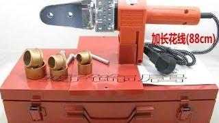 видео Паяльник для полипропиленовых труб: как выбрать, насадки, терморегулятор и цены
