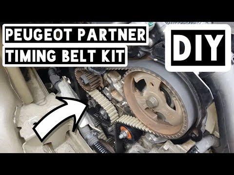 How To Install Timing Belt Kit On Peugeot Partner/Citroen