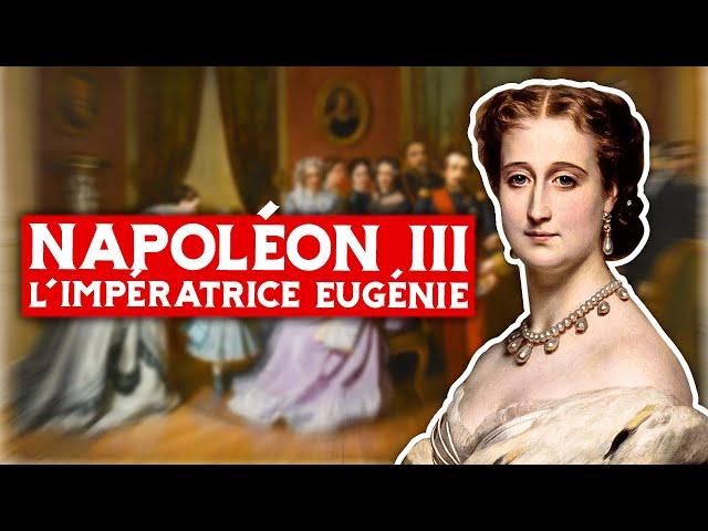 Napoléon III et l'impératrice Eugénie
