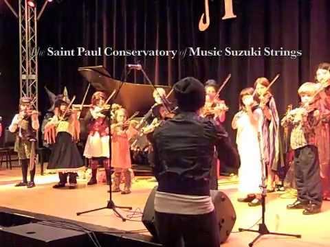 Saint Paul Conservatory of Music Suzuki String Halloween 2012