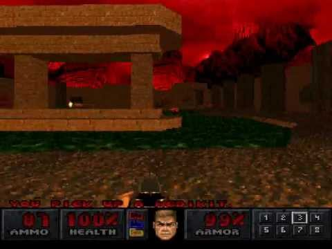 Final Doom (PSX) - Map 21 (Lunar Mining Project) |