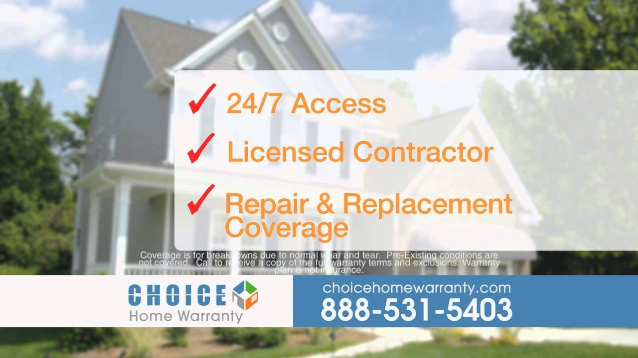 Choice Home Warranty mercial