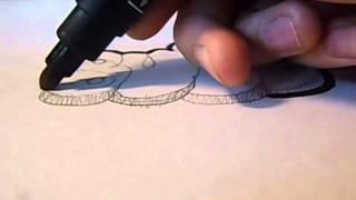 Уроки граффити с Gabsom (видео четвертое). Bubble style