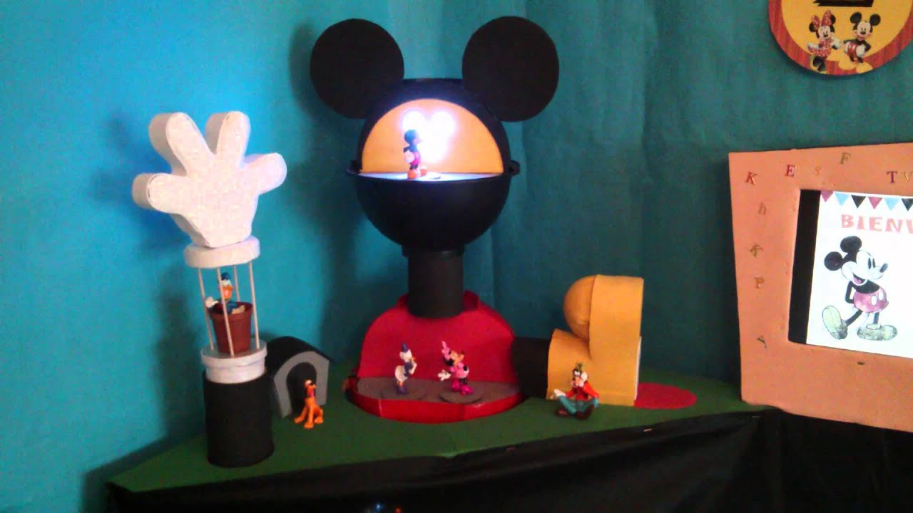 Diy la casa de mickey mouse arduino y raspberry youtube - Youtube casa mickey mouse ...