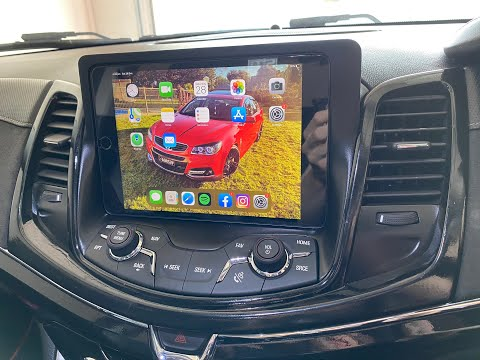 IPad Mini Dash Install Holden VF Commodore/ Chevy SS