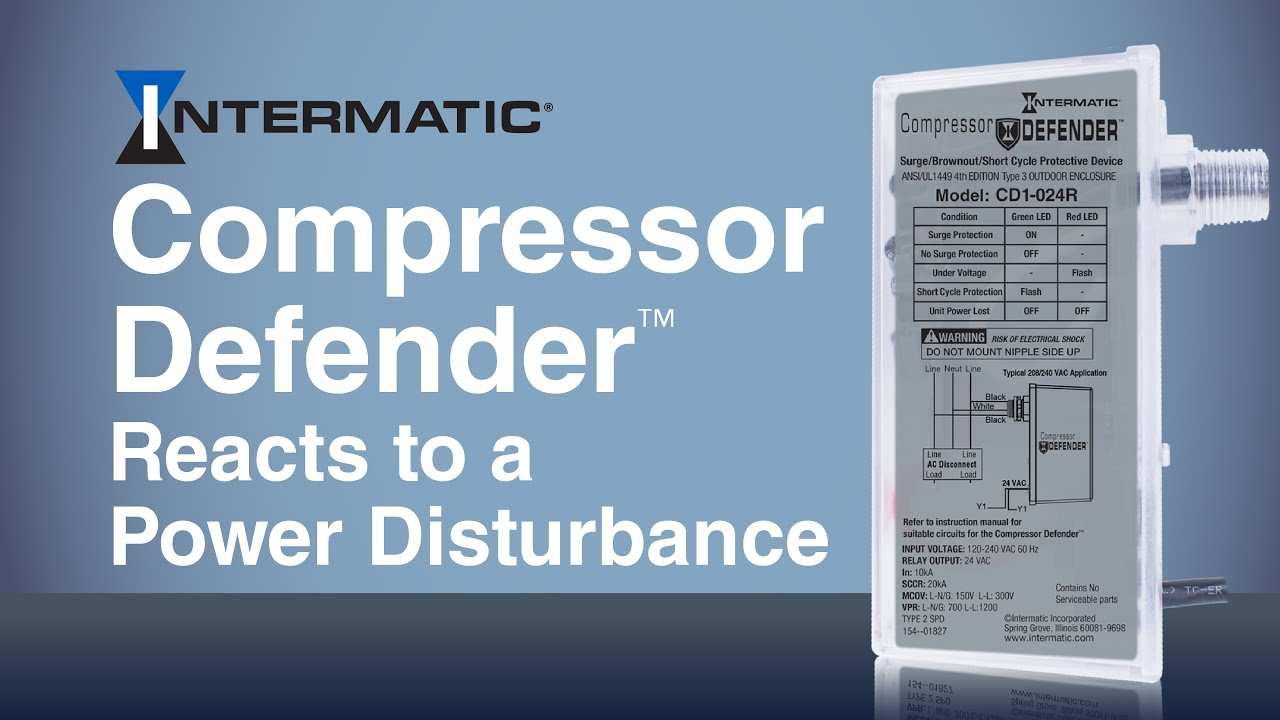 Compressor Defender™ Reacts to a Power Disturbance