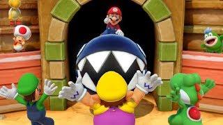 Super Mario Party - All 1-vs-3 Minigames