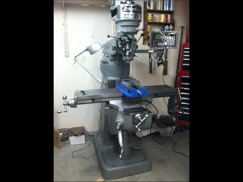 Bridgeport J-Head Milling Machine Restoration