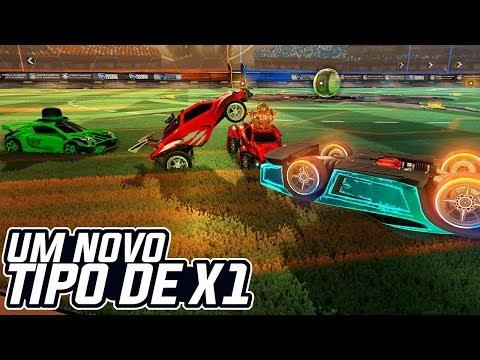 MINIGAME SHOW! NOVO TIPO DE X1?! MARCA OU SAI! - Rocket League