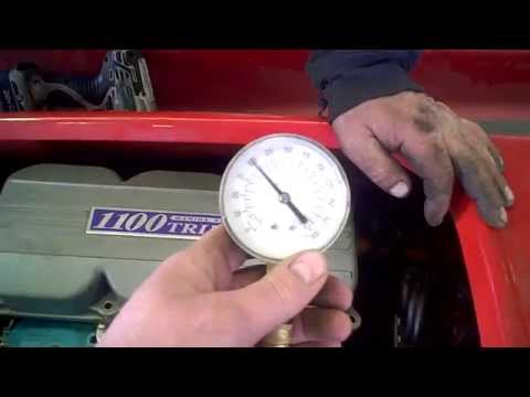 LOT 1708C 1997 Kawasaki STX 1100 Engine Compression Test