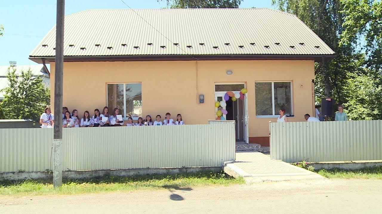 Оновлений медичний пункт урочисто відкрили на Коломийщині (відеосюжет)