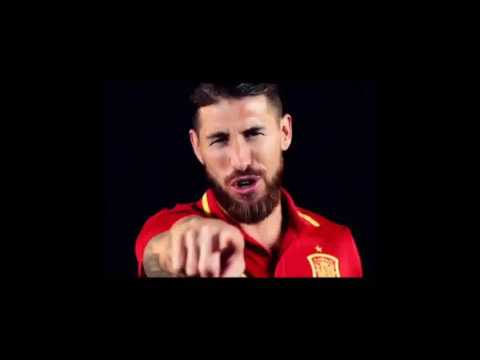 "Spain's Euro 2016 song ""La Roja Baila""  with Sergio Ramos As Lead Singer"