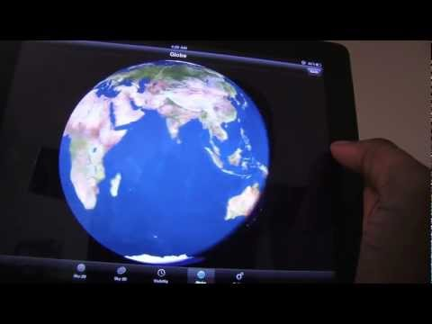 How to view planets with iPad. PLANETS: Solar System app.