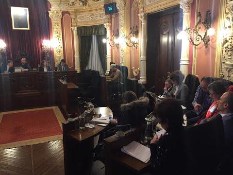 Pleno del Concello de Ourense: la oposición se revuelve por la actitud de Jácome