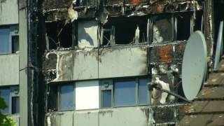 London Tower Fire Began Point Fridge Freezer
