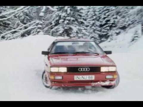 ► Audi, the Quattro