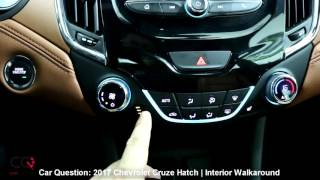 2017 Chevrolet Cruze Hatchback | Interior review | The MOST complete review: Part 2/7
