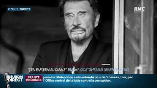 """""""Mon Pays, c'est l'amour"""", le dernier album de Johnny Hallyday est sorti"""