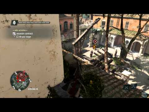 Assassin's Creed 4 Black Flag Assassin Contracts 1-15 100% Side Mission Walkthrough