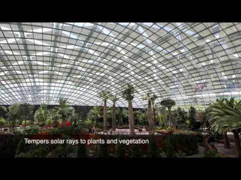 Gardens by the bay - Soltis 92 retractable screens