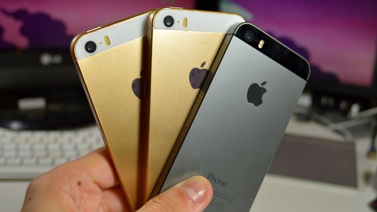Comprar Replica Iphone 5s Gold