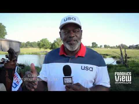 Emmitt Smith on Dallas Cowboys offensive line & Larry Allen (2017)