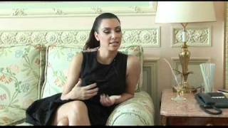 kim kardashian interview  paris
