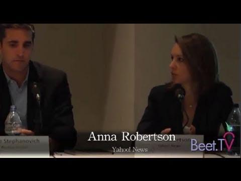 Yahoo! Edits Biden Video While YouTube Streams Obama -- Yahoo's Anna Robertson Explains Strategy