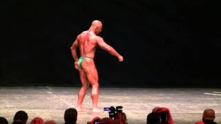 Bill Scarnat IFBB Pro Bodybuilder 2012 Master Mr Olympia