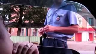 Этот наглый ГИБДДшник явно недооценил водителя и поплатился Общение с ГИБДД
