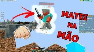 Minecraft: MATEI TODO MUNDO NA MÃO!! - SKYWARS DESAFIO#3(SKYMINIGAMES)