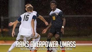 VCU Soccer defeats UMASS
