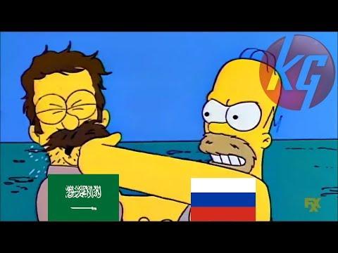 Parodia De Rusia Vs Arabia Saudita :v