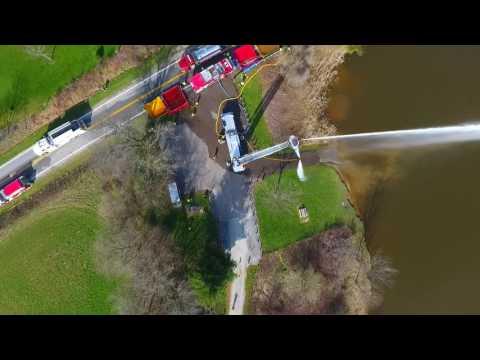Marlboro Fire Co. (stark co. Ohio) tanker shuttle training