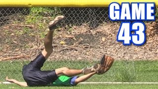 BEST CATCH IN THE HISTORY OF SPORTS! | On-Season Softball Series | Game 43