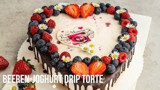 Muttertagstorte/Beeren-Joghurt-Drip Torte/Muttertag
