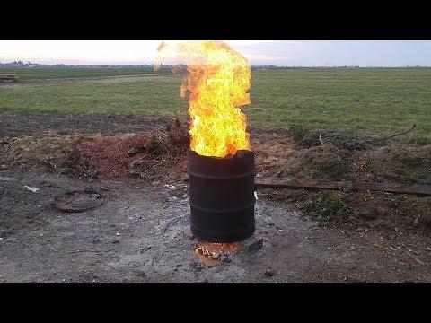 Rocket Stove Incinerator (((INSANE)))