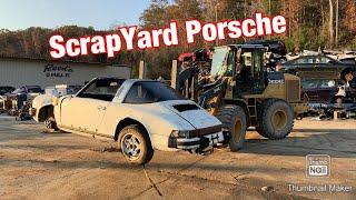 Saving a Vintage Porsche 911 Targa from the Scrapyard! :Rebuild Part 1