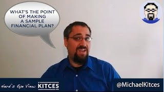 Why All Financial Planners Need To Create A Sample Financial Plan