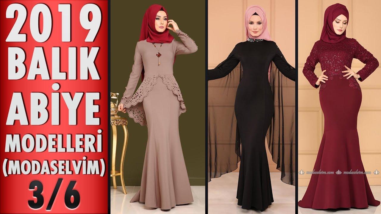 1bb22b50925d0 Modaselvim 2019 Balık Abiye Modelleri 3/6 | Fish Model Hijab Evening Dress  | #tesettür #abiye #dress