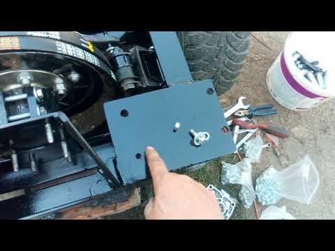 Крепление автомобильного сцепления с двумя ручьями и креплением НШ  на фордовской ступице.