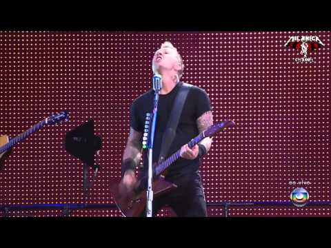 Metallica - James fails to switch guitar sound - Fade to Black - Rock in Rio 2011