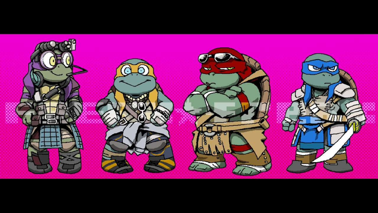 the Great Love And Downfall: 2014/16 tmnt x reader (intro)
