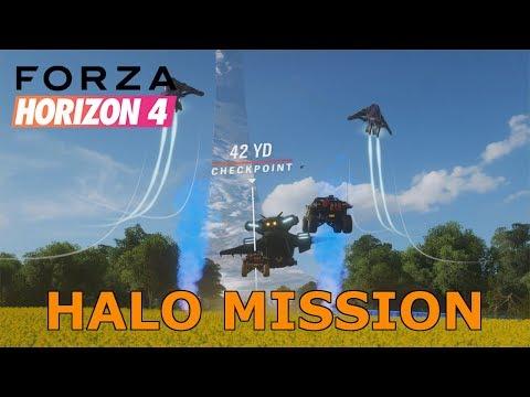 Forza Horizon 4: Halo Experience Showcase | 4K NO HUD thumbnail