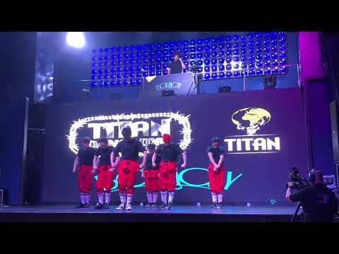 B.E.S.H.Y - Bunch of Empowered Sexy Happy Youngbloods    TITANS DANCE DUBAI   HIPHOP COMPETITION