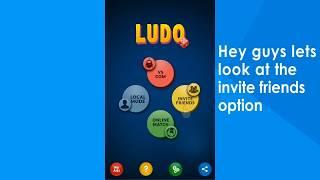 Ludo Invite Friends