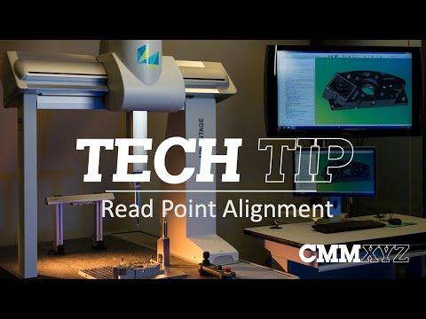 Pc Dmis Read Point Alignment Cmm Tech Tips Cmmxyz Youtube