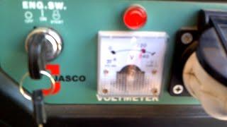 Jasco Generator J1800 DLX Full Load Test Video