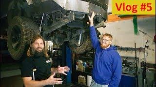 Custom 4x4 Rear Bumper - Vlog #5