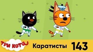 Три Кота  Серия 143  Каратисты  Мультфильмы для детей